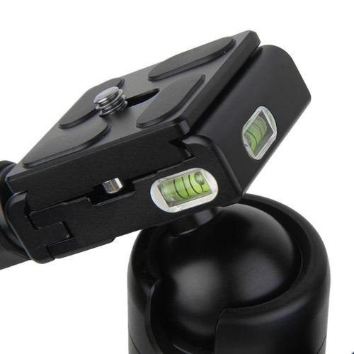 fotopro m5 mini tripie monopie de magnesio dslr con cabezal