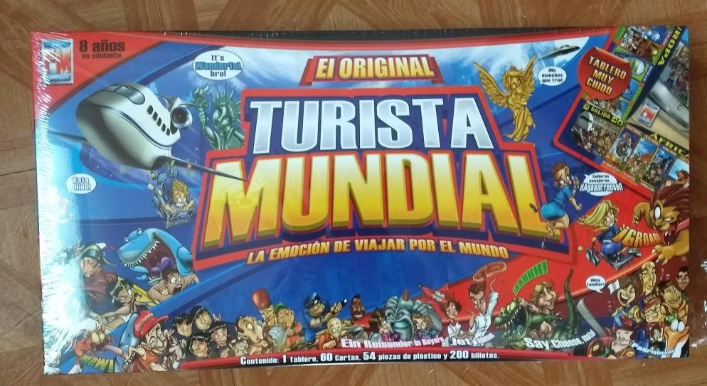 Fotorama Turista Mundial Original Juego De Mesa 198 00 En