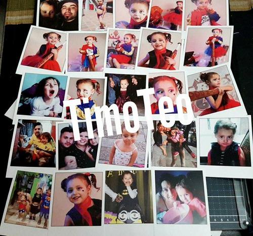 fotos tipo polaroid - pack 40 de 5x7 - también otras medidas