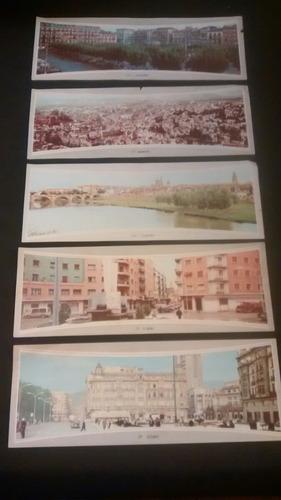 fotos tipo postales de ciudades españolas.
