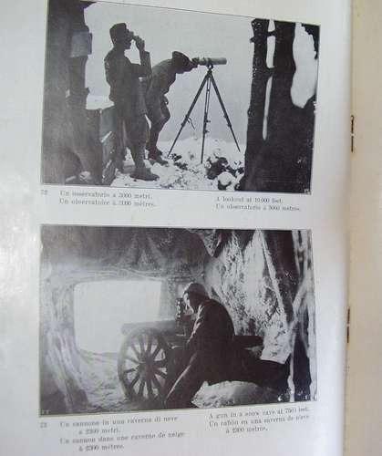 fotos tropas alpini editado en italia 1916