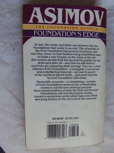 foundation's edge isaac asimov en ingles