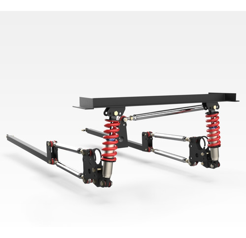 four link chevy coupe c amortiguadores regulables raw parts