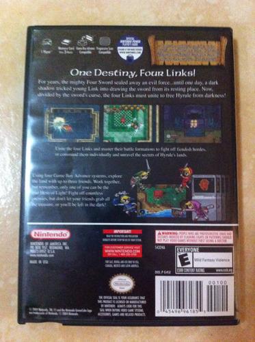 four swords adventures - gamecube