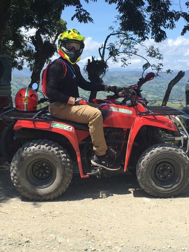 four wheel yamaha bear tracker, semi automático