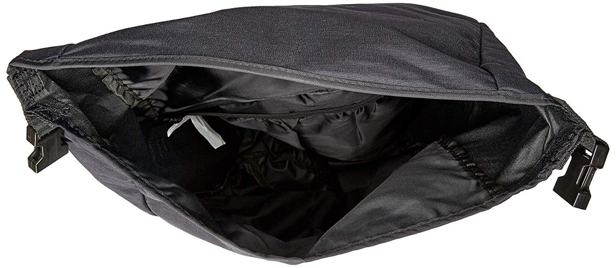 OS black Fox Juniors Darkside ROLL TOP Backpack
