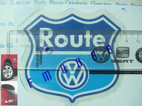 fox fusca gol santana novo polo golf logotipo emblema route