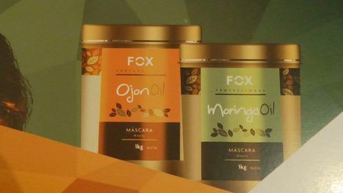 fox profissional máscara hidratante moringa oil 1kg