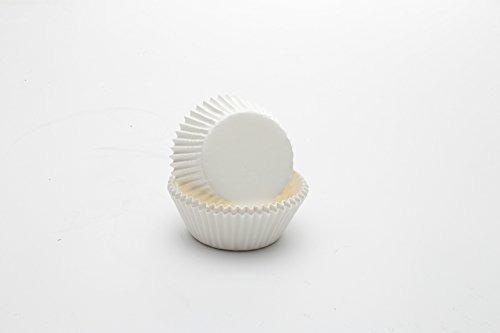 fox run 4955 white bake cups standard 50 copas
