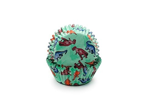 fox run 4977 dinosaur bake cups standard 50 copas