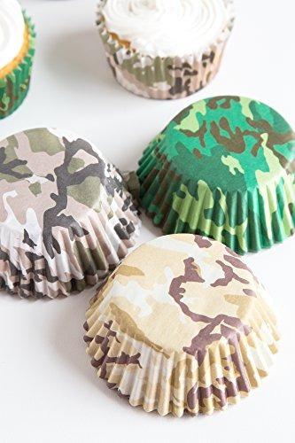 fox run 7134 camouflage bake cup set standard 75 copas