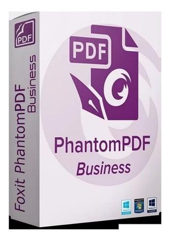 foxit phantompdf business 9.5.0.20723 (br) p/ 4 pc's
