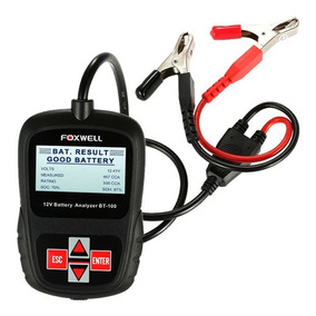 Foxwell Probador De Baterias Bt100 12v + Envio