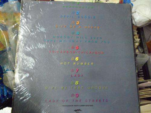 foxy disco lp de 12 hot number importado 1979 exclente estad