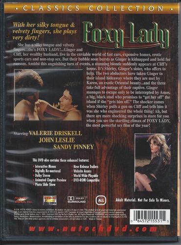 foxy lady xxx classics collection dvd importado