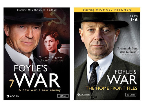 foyle's war bundle pack edición 25 discos dvd