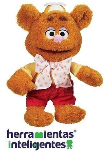fozzie bear disney junior muppet babies peluche