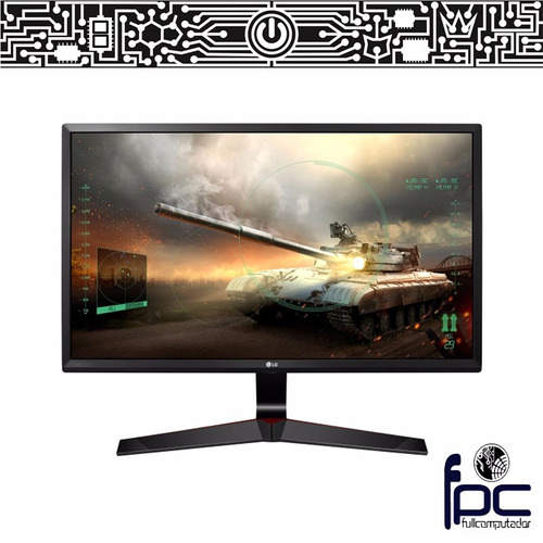 fpc - monitor gamer 24 pulgadas lg 24mp59g hdmi 1ms mbr ips