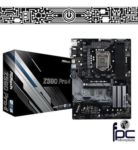 fpc motherboard asrock z390 pro4 intel 8va y 9na gen