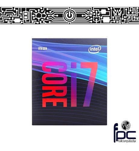 fpc procesador intel i7 9700 9va gen hasta 4.7ghz.incl iva