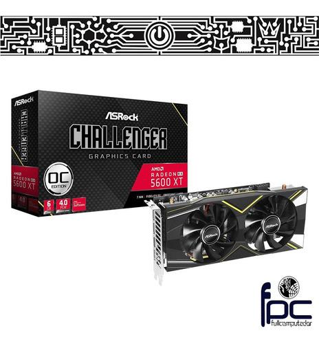 fpc tarjeta de video asrock  rx 5600 xt challenger 6g oc