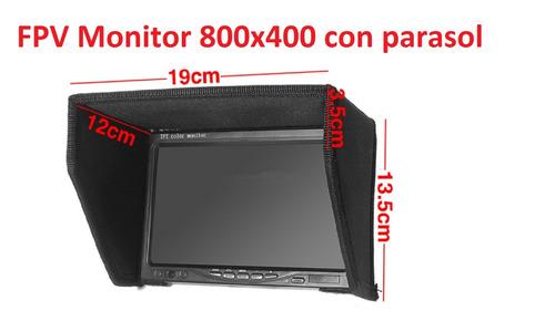 fpv monitor 7  800x400 mejor precio