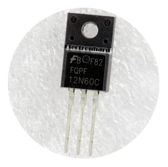 Fqpf12n60c 600v 12a 51w Originales Fqpf12n60ct Fqpf 12n60c