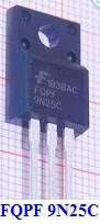 fqpf9n25c - fqpf 9n25 c - p 9n25c - 9n25c - transistor !!