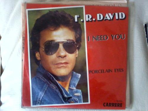 fr david - i need you