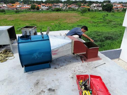 frabicacion e instalacion de extractores antminer s9 mineria
