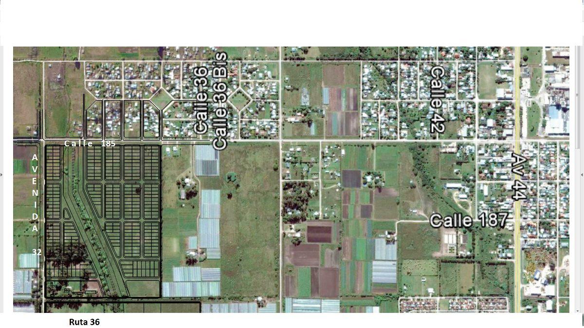 fraccion 32 e/ 185 y 186 la plata (zona rural)