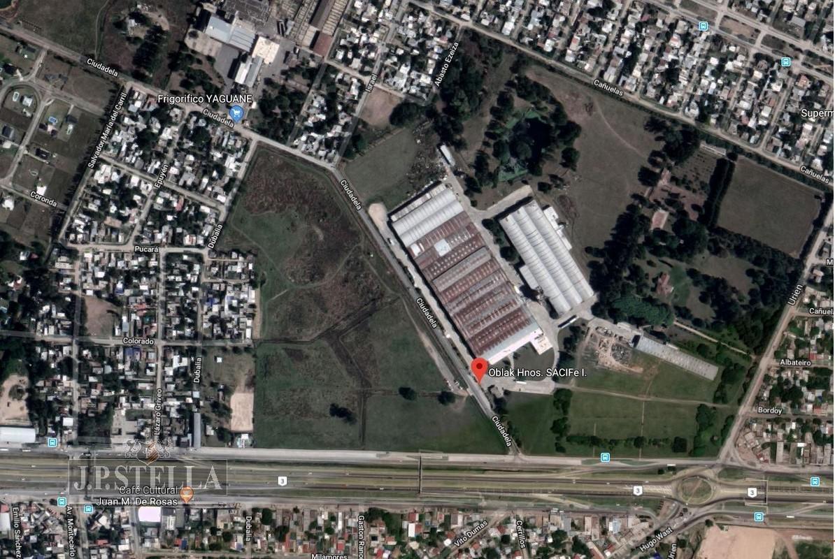 fraccion comercial en esquina 30843 m2 con frente a ruta 3 km 38 - virrey del pino