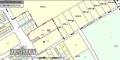 fracción comercial / industrial 10515 m² con mejoras - 9 de abril