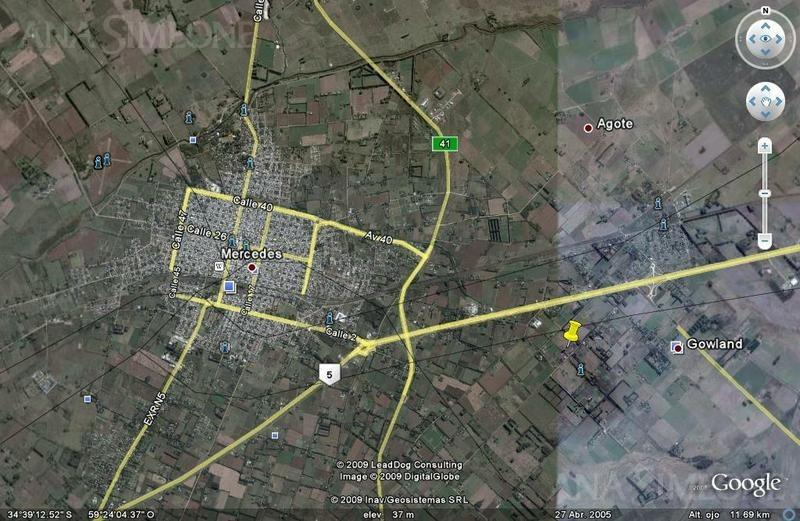 fracción de 3 has con 127 mts. de frente sobre ruta 5