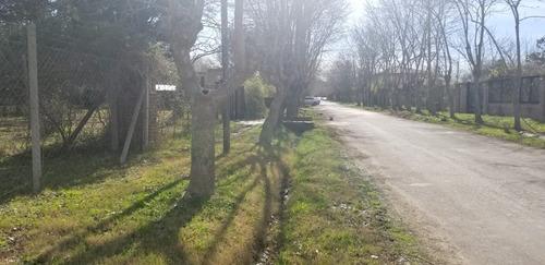fraccion de 3724 mts en calle reconquista - dique lujan