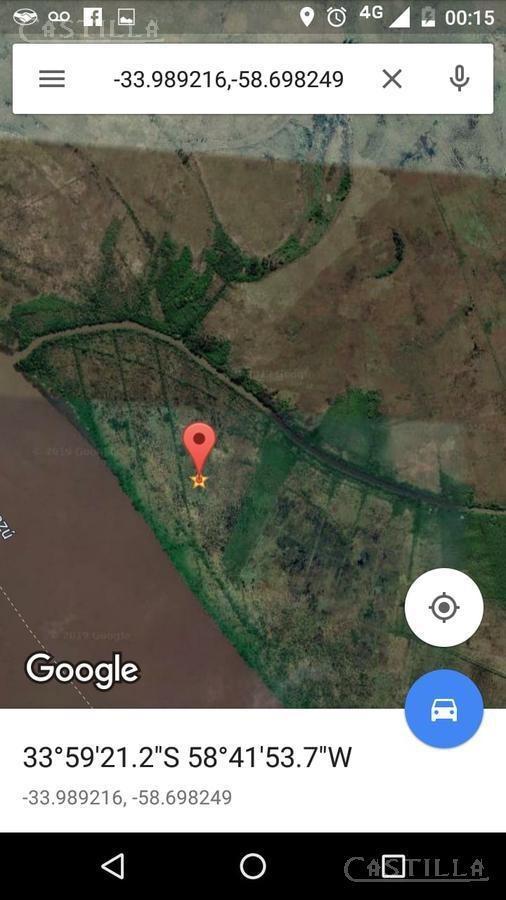 fracción de 40 ha en isla del ibicuy