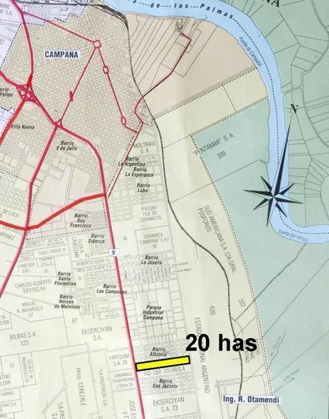 fracción en venta sobre panamericana 20 has. ideal logística y emprendimientos urbanisticos