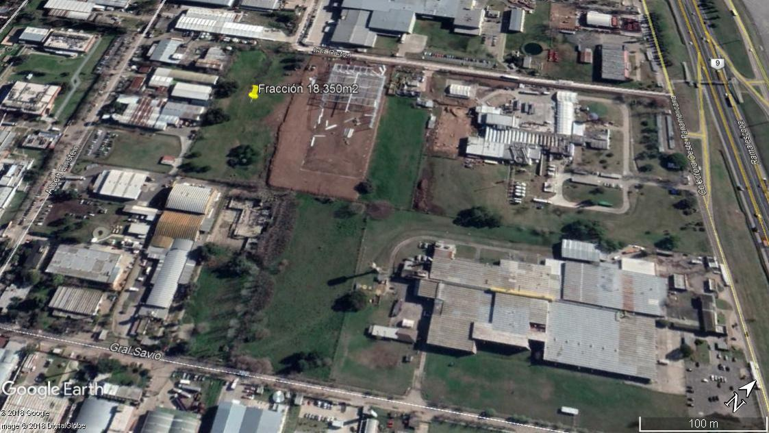 fracción industrial 18.350m2 - centro industrial oks / garín