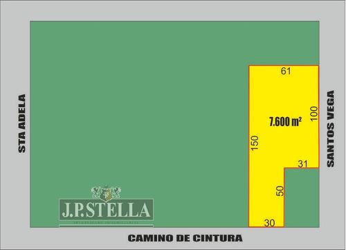 fracción industrial / comercial 7600 m² - 9 de abril