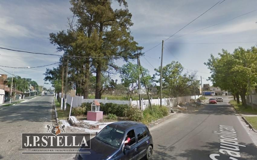 fracción industrial/comercial  5237 m² frente a 3 calles - villa luzuriaga
