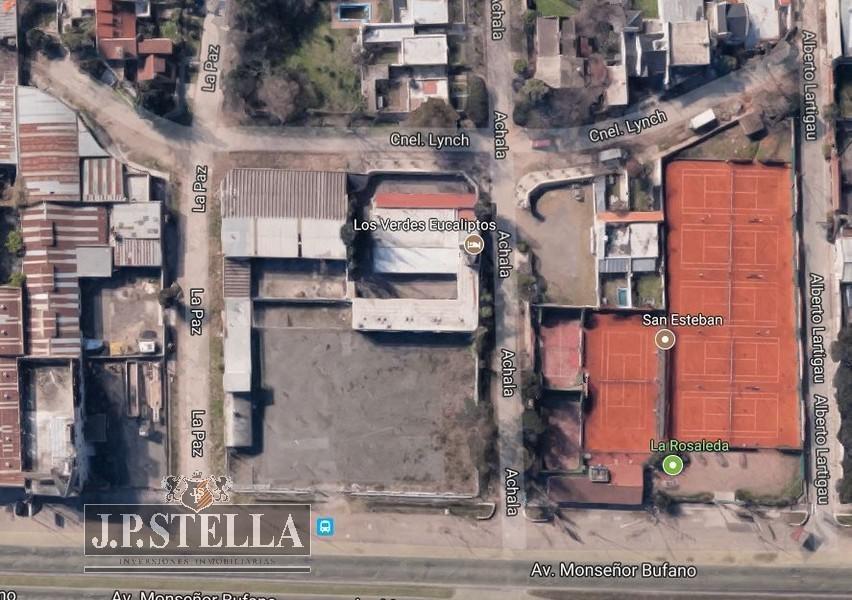 fraccion mixta industrial de 1600 m2.monseñor bufano al 1700