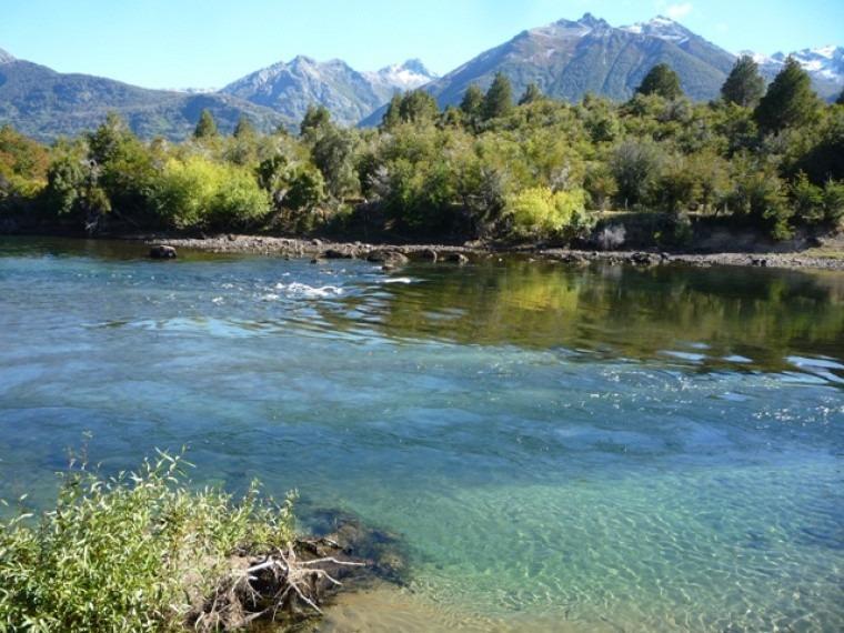 fraccion terreno lote 1 ha sobre rio carrileufu cholila