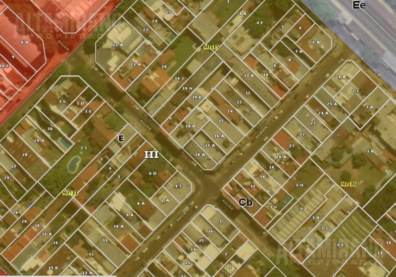 fracción única 936 m2. a 1 cuadra estación v. ballester! zonif cb!
