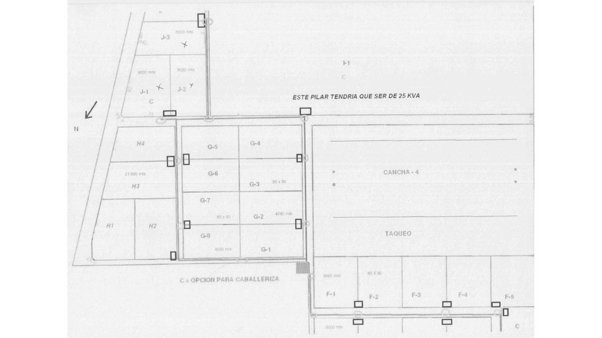 fracciones/terrenos en venta en capilla del señor