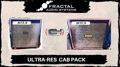 fractal audio systems argie 4x12 ultra-res cab pack