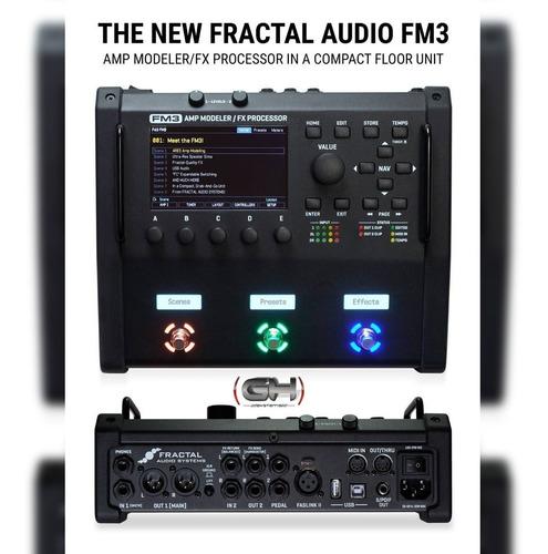 fractal audio systems fm3 (dealer oficial) - no axe fx