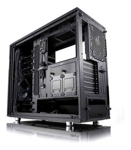 fractal design define r6 blackout tg 3 coolers 140mm vidrio