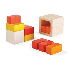 Fraction Cubes  - Plantoys - Juguetes De Madera