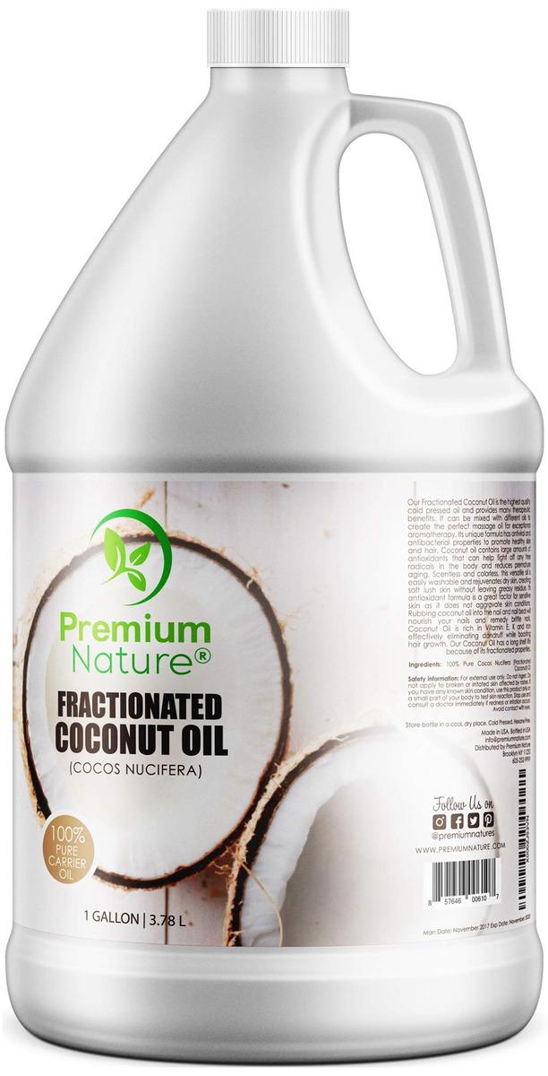 Fractionated Coconut Oil Massage Oils Liquid Mct Natural &