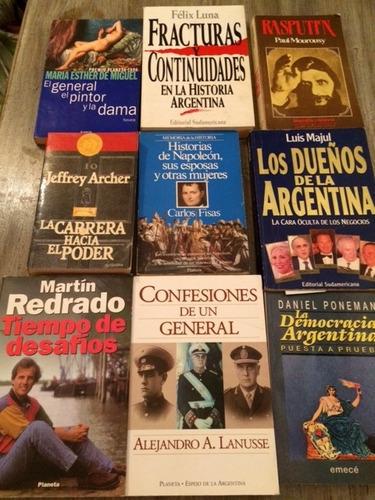 fracturas y continuidades en la historia argentina f. luna
